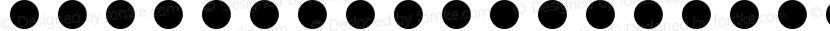 Password Dots Regular Preview Image
