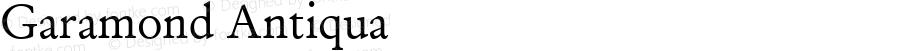 Garamond Antiqua Version 1.3 (ElseWare)