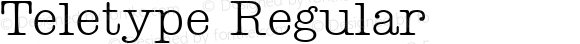 Teletype Regular