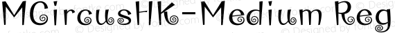 MCircusHK-Medium Regular preview image
