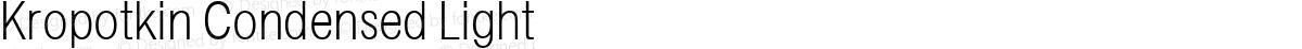 Kropotkin Condensed Light