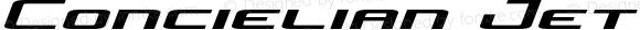 Concielian Jet Expanded Semi-Italic Expanded Semi-Italic