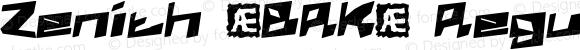 Zenith (BRK) Regular 1.03