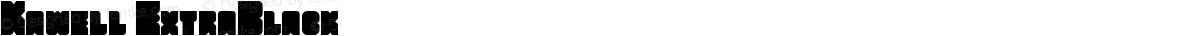 Kawell ExtraBlack