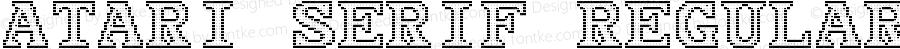 Atari Serif Regular Version 1.0