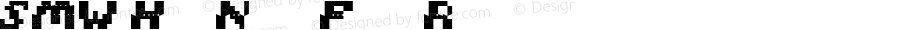 SMW Hud Name Font Regular 1.0