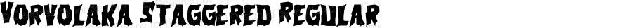 Vorvolaka Staggered Regular Version 1.0; 2013