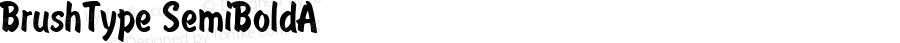 BrushType SemiBoldA 1.0 Sun Oct 10 15:28:59 1993