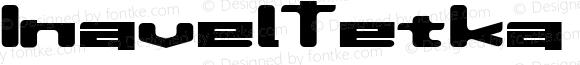 InavelTetka Cyr Semi-expanded DemiBold
