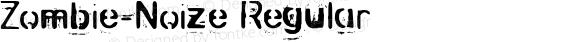 Zombie-Noize Regular 2000; 1.0, a zombie release