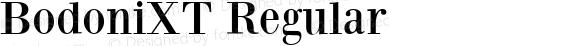 BodoniXT Regular 1.0 2003-06-19