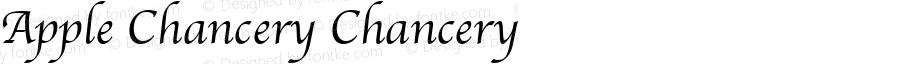 Apple Chancery Chancery 4.1d1