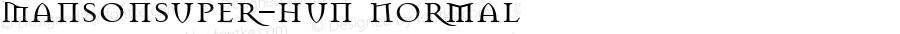 MansonSuper-Hun Normal 1.0 Sun Jul 14 13:53:56 2002