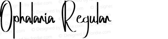 Ophalaria Regular