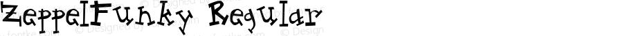 ZeppelFunky Regular Macromedia Fontographer 4.1 1997-10-02