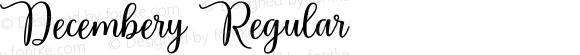 Decembery Regular