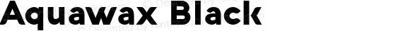 Aquawax Black