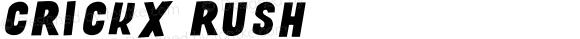 Crickx Rush Version 001.000