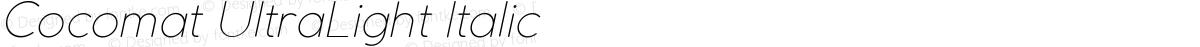 Cocomat UltraLight Italic