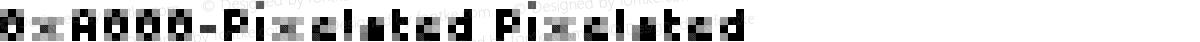 0xA000-Pixelated Pixelated