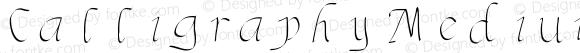 Calligraphy Medium
