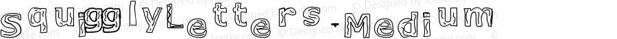 SquigglyLetters Medium Version 001.000