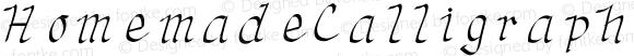 HomemadeCalligraphy Medium