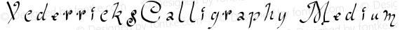 VcderricksCalligraphy Medium