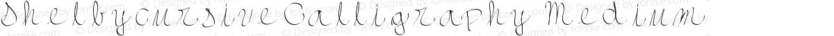 ShelbycursiveCalligraphy Medium
