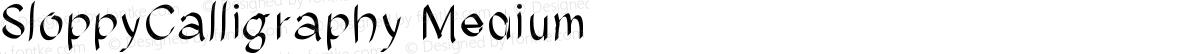 SloppyCalligraphy Medium
