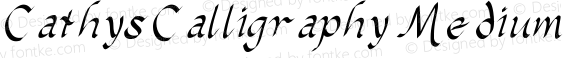 CathysCalligraphy Medium