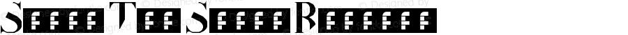Slice The Serif Regular Version 1.0