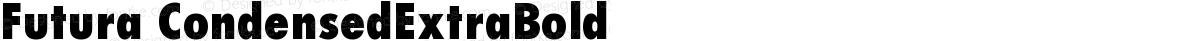 Futura CondensedExtraBold