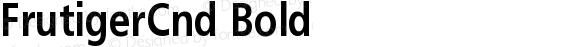 FrutigerCnd-Bold