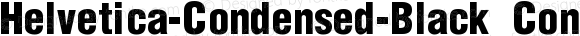 Helvetica-Condensed-Black Condensed-Black-SemiBold