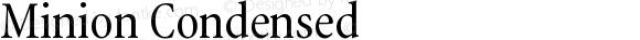 Minion Condensed
