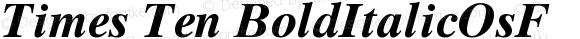 Times Ten BoldItalicOsF Version 001.002