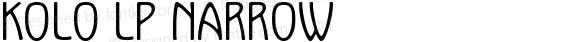 Kolo LP Narrow