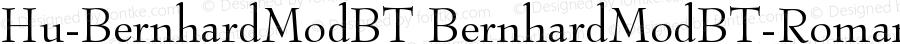 Hu-BernhardModBT BernhardModBT-Roman Version 001.000