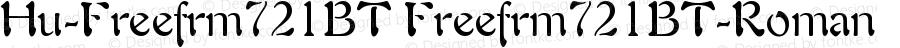 Hu-Freefrm721BT Freefrm721BT-Roman Version 001.000