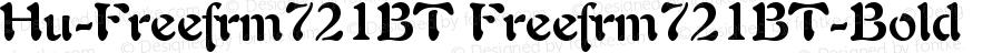 Hu-Freefrm721BT Freefrm721BT-Bold Version 001.000