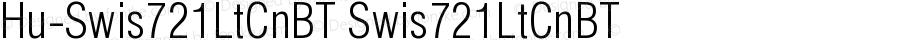 Hu-Swis721LtCnBT Swis721LtCnBT Version 001.000