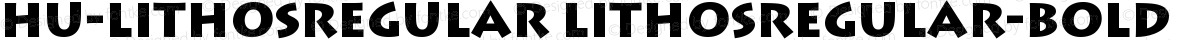 Hu-LithosRegular LithosRegular-Bold
