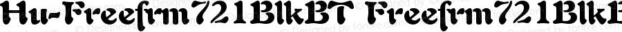 Hu-Freefrm721BlkBT Freefrm721BlkBT Version 001.000