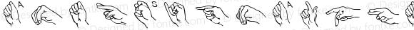 AmerSignAlpha Medium Version 001.000