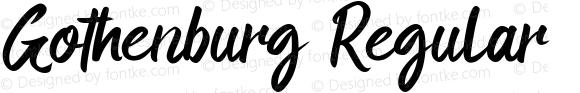 Gothenburg Regular