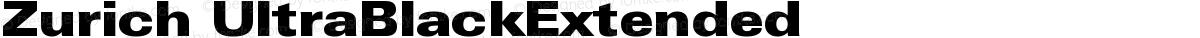 Zurich UltraBlackExtended