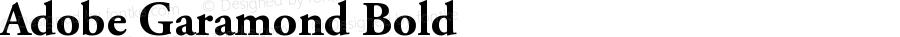 Adobe Garamond Bold