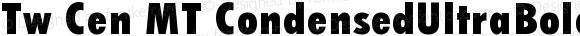 Tw Cen MT CondensedUltraBold