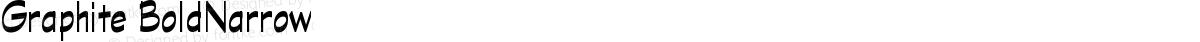 Graphite BoldNarrow